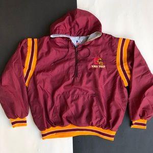Vintage Iona Prep Half zip hoodie jacket